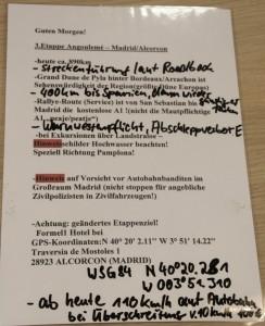 Briefing Angouleme Dresden - Dakar - Banjul