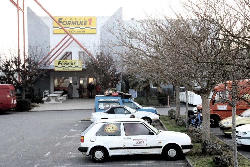 Dresden Dakar Banjul, Hotel F1 Angouleme