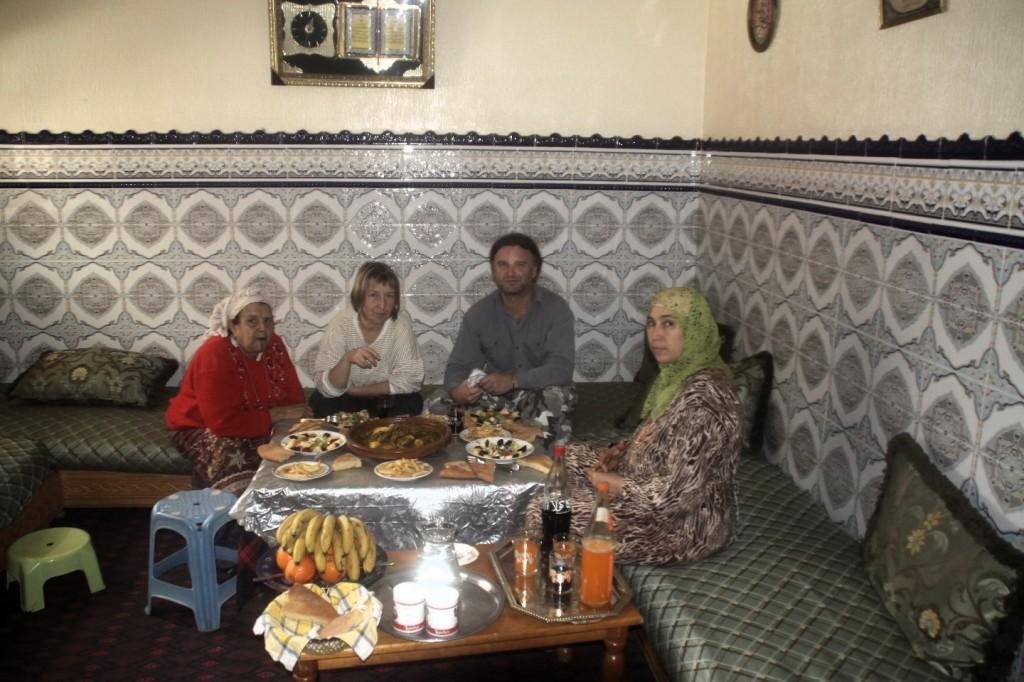 Zwischenstop bei Freunden in Kenitra