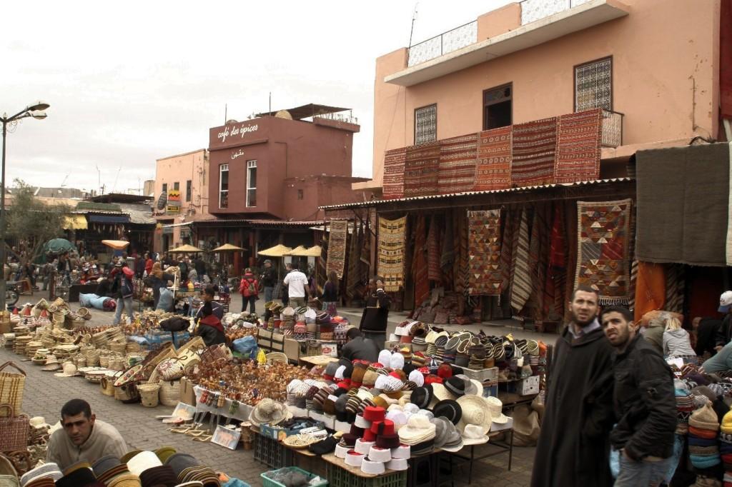 im Souk von Marrakesch