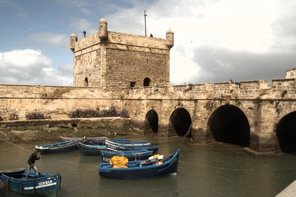 Festungsanlagen am Hafen von Essaouira