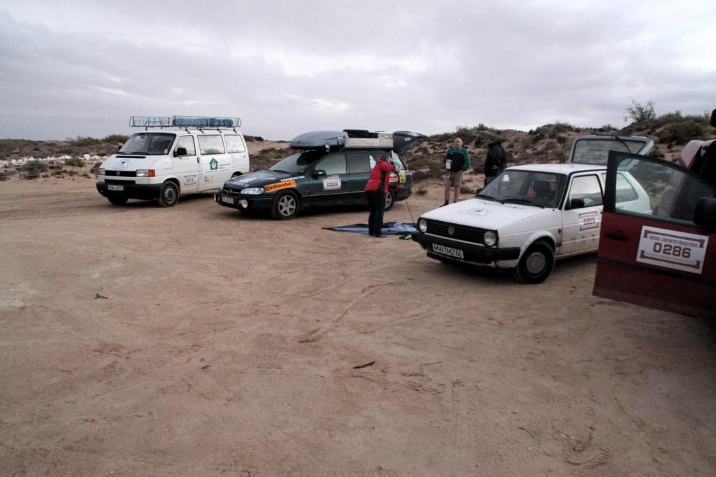 Dresden Dakar Banjul, Camp Le Roi Bédouin bei Laayoune