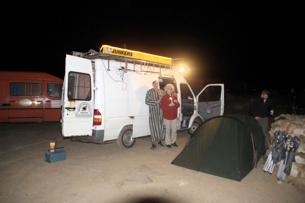 im Camp Le Roi Bédouin bei Laayoune