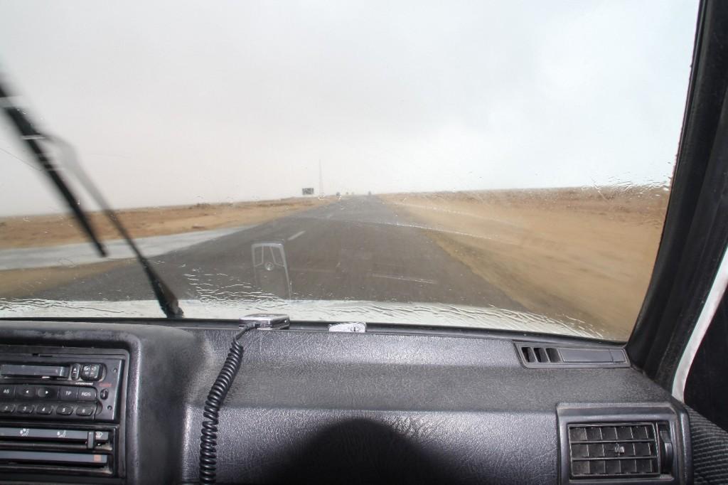Schon wieder Regen in der Sahara