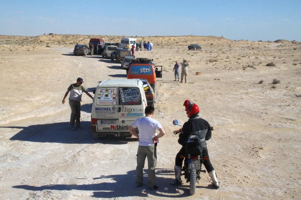 Zwischen Marokko und Mauretanien, 5km Niemandsland