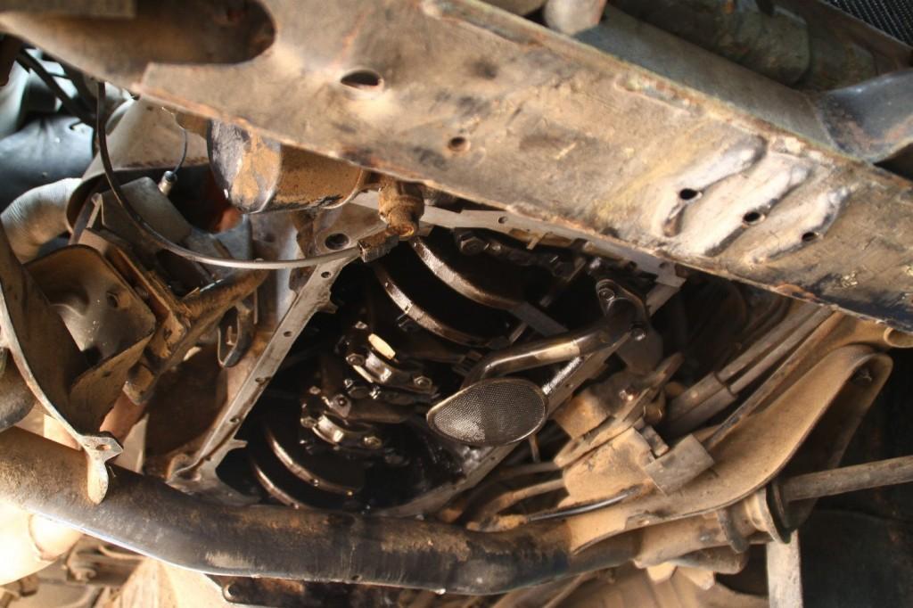 Mitsubishiölwanne im OP, Operation am offenen Herzen