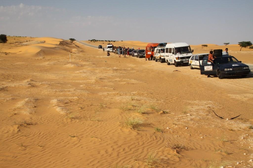 auf der Straße nach Nouakchott