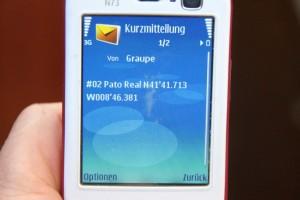 Die rettende SMS