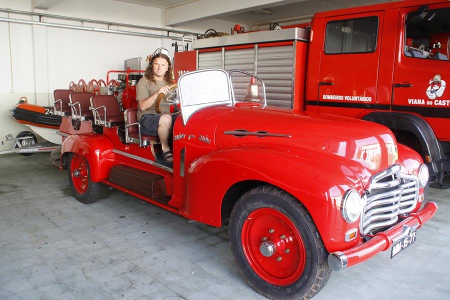 Im Feuerwehrdepot