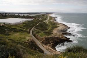 Blick von Rosh Hanikra nach Süden