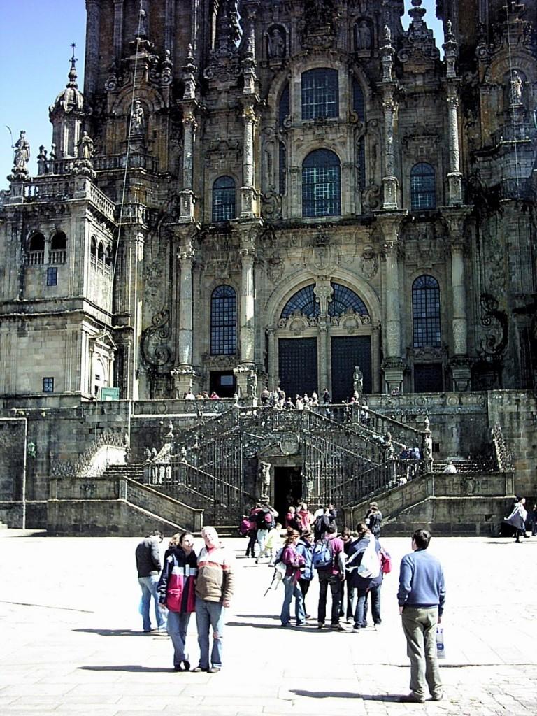 Wir fahren in den Norden bis nach Spanien, Santiago de Compostela