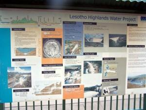 lesotho highlands water projekt