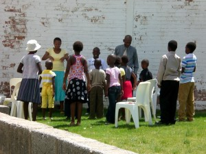 Kindergottesdienst in Butha-Buthe