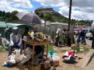 Händler in Butha-Buthe