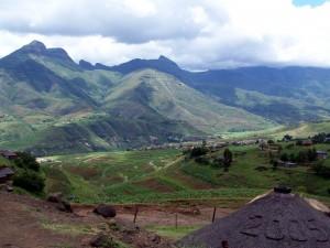 Lesotho near Butha-Buthe