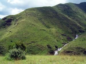 Die grünen Berge Lesothos
