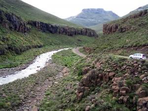 Von Mokothlong zum Sani Pass