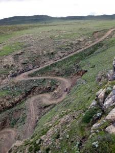 am Sani Pass, Lesotho