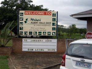 Albert Falls Dam, Kwa Zulu Natal