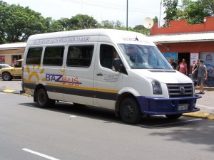 the buzbus in st. lucia