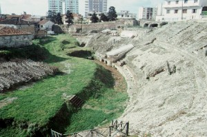 Das Amphitheater in Durres