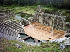 Das Amphitheater in Butrint