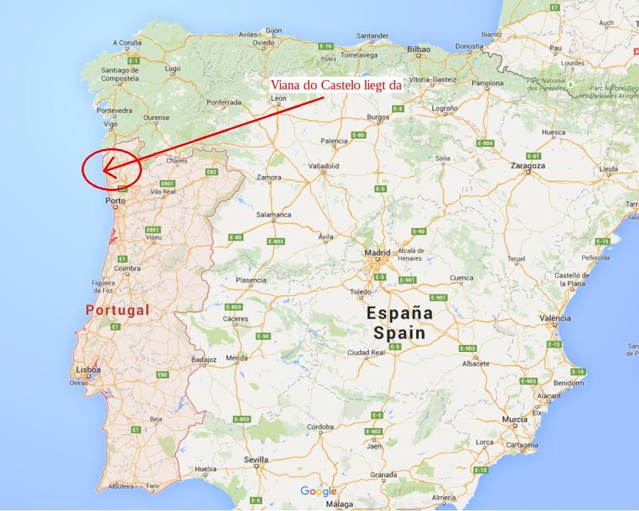 Hier liegt Viana do Castelo