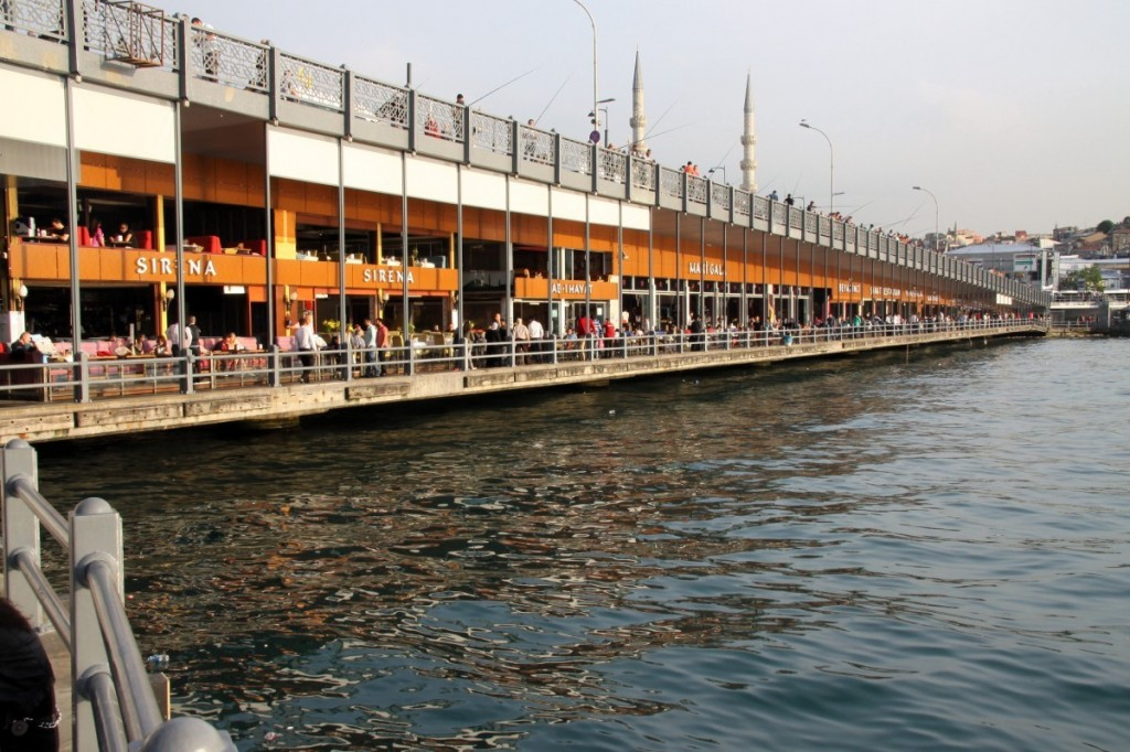 Galati Brücke Istanbul