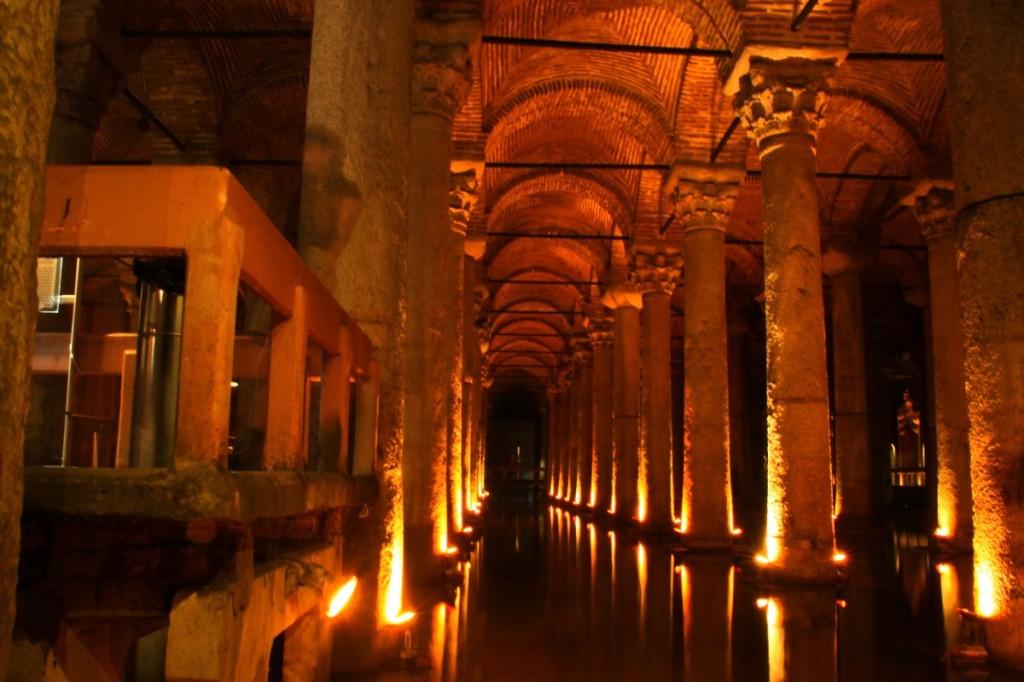 In der Cisterna Basilica