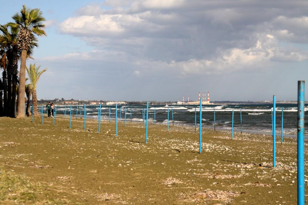 oroklini beach