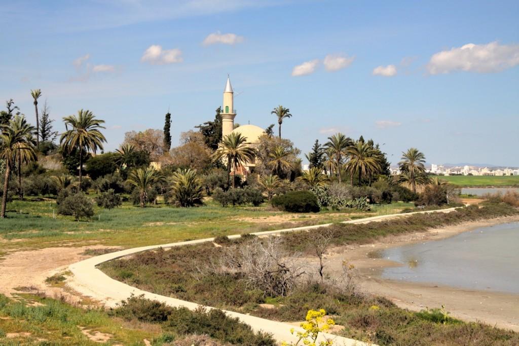 Hala Sultan Tekke Moschee Larnaka Zypern