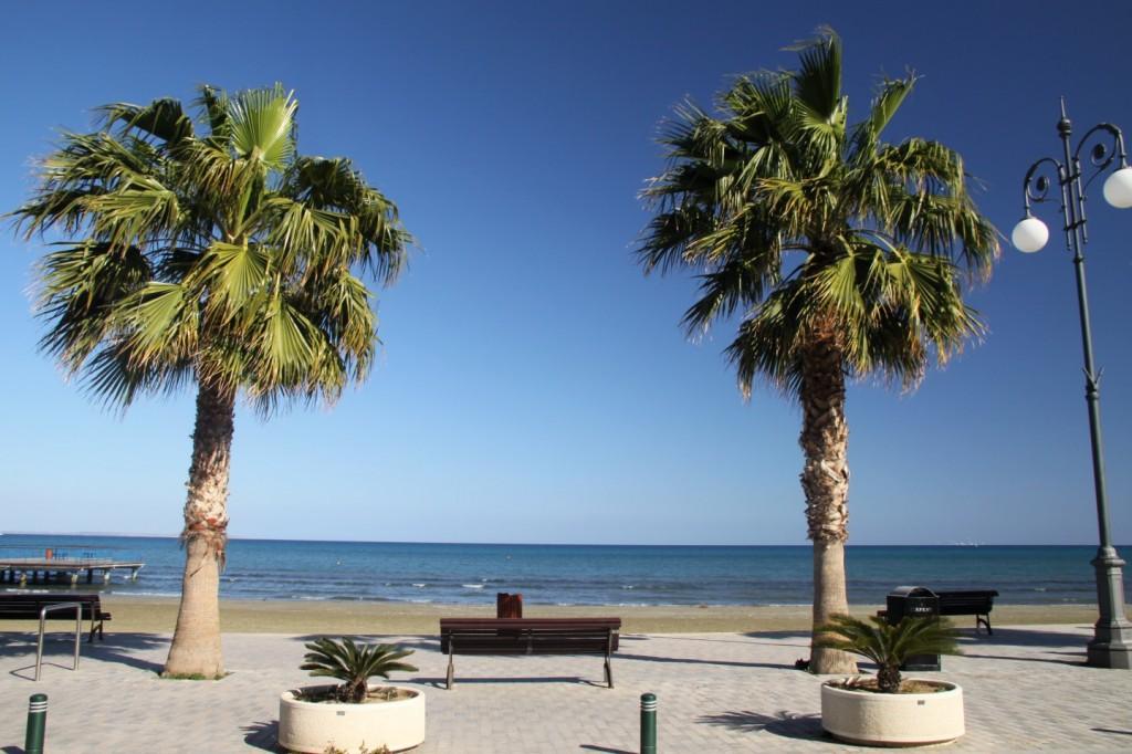 Am Strand von Lanarka, Zypern