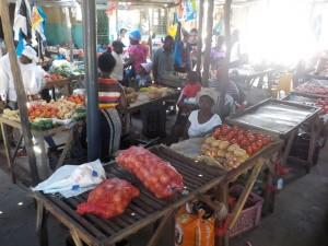 Im Markt mercado in Zavala Quissico