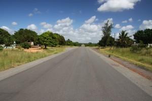 Zavala Quissico Mosambik, Lambuene Bus Stop