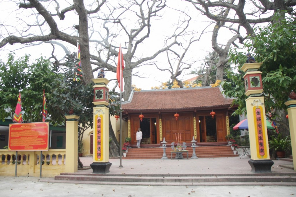 Tempel in Đồ Sơn, Vietnam