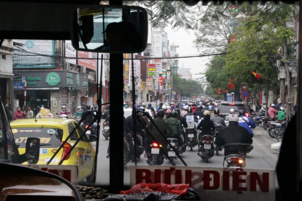 Straßenverkehr Traffic Vietnam