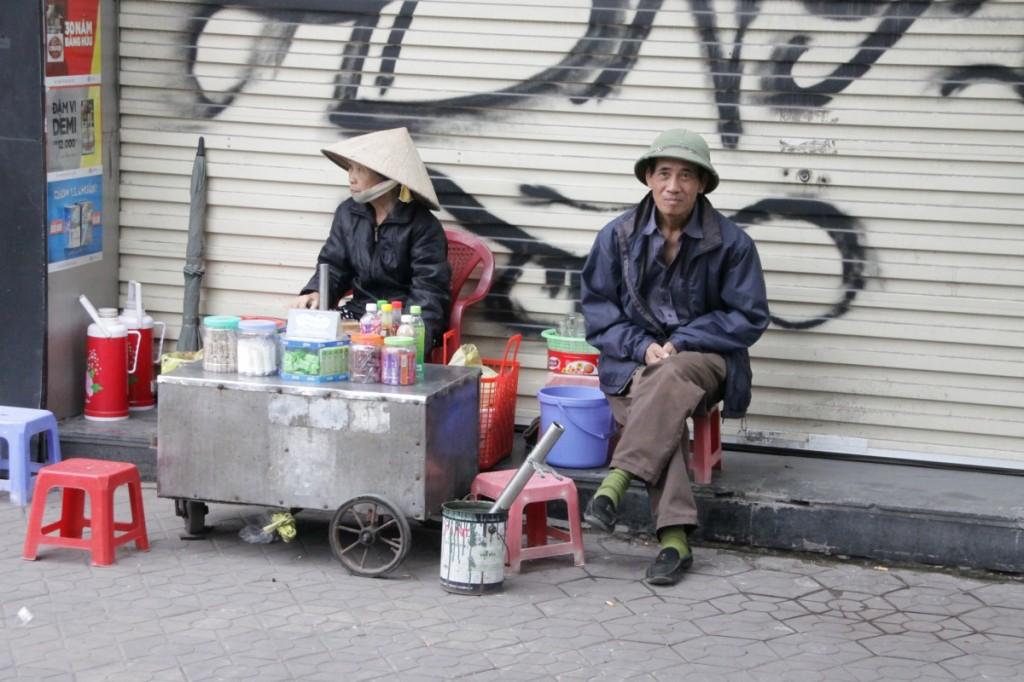 Straßenleben Vietnam