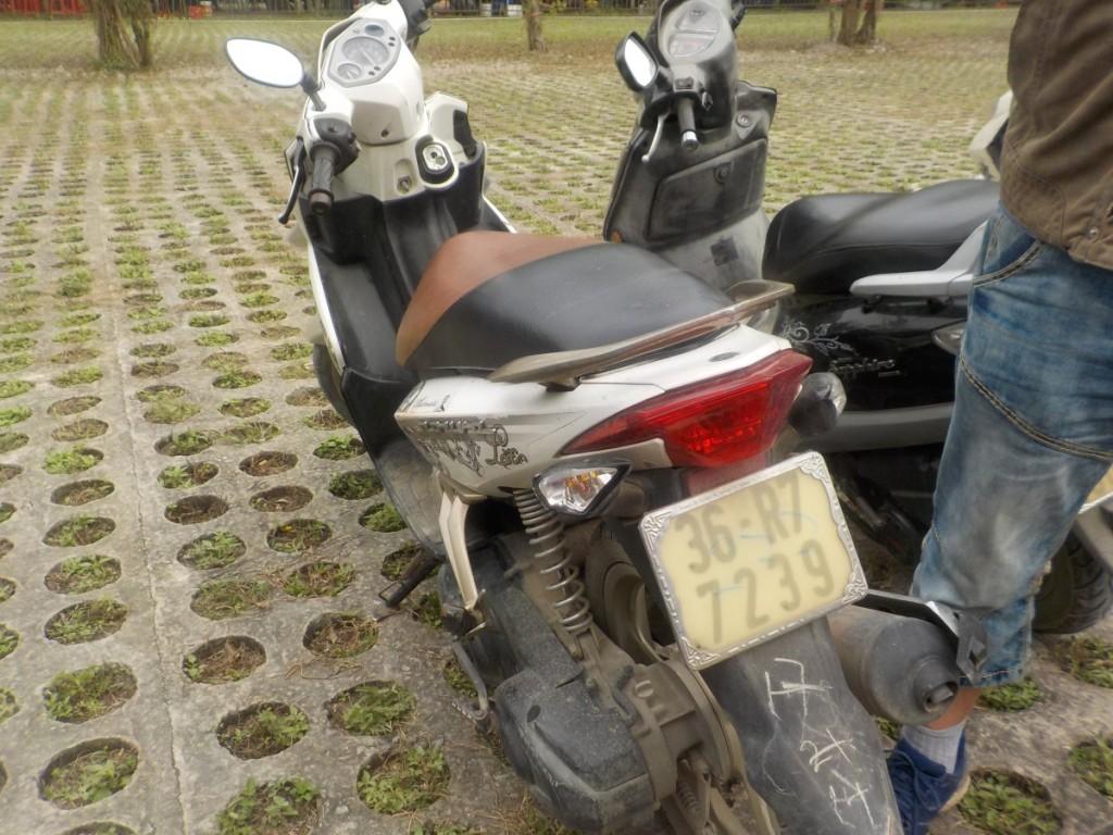 Yamaha Motorroller Vietnam