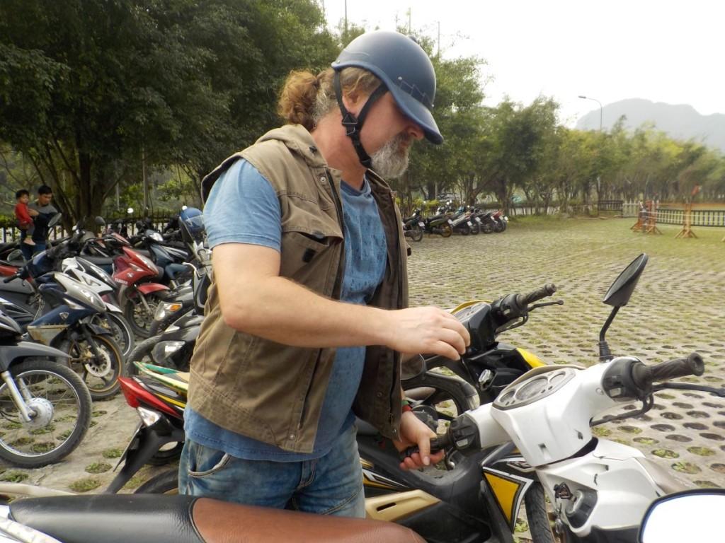 Motorroller Tràng An Vietnam
