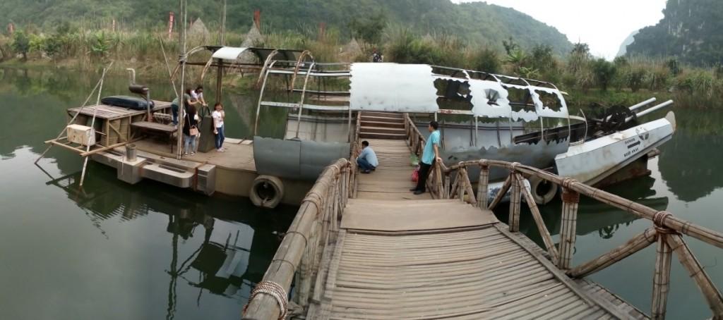 Movie Set Kong Skull island Vietnam