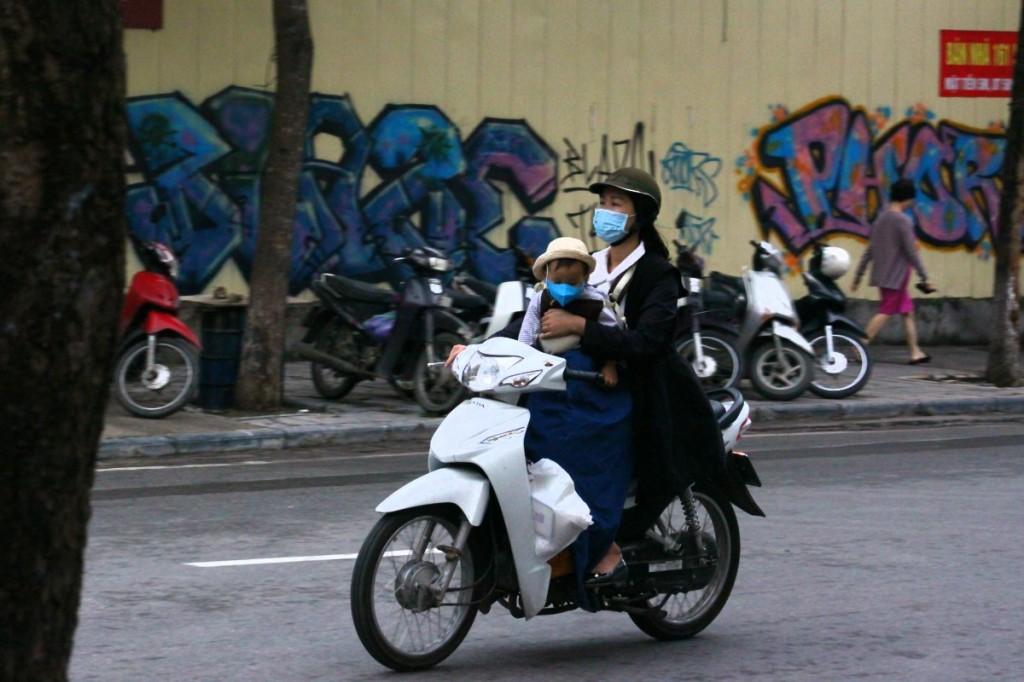 Motorroller Hanoi 2019