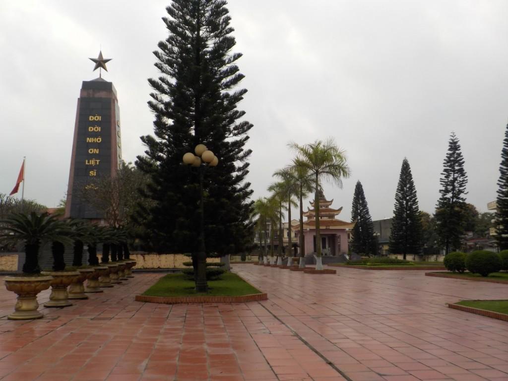 Denkmal in Hải Dương, Vietnam