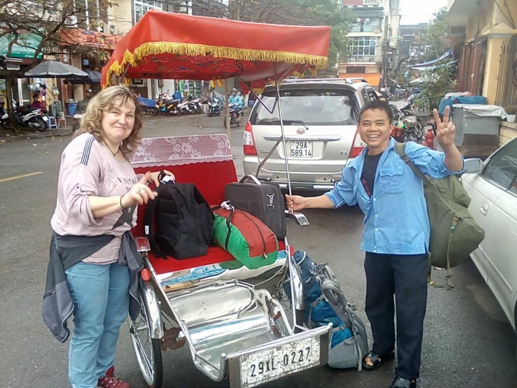 Hanoi Rikscha