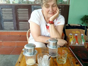 ninh binh coffee maker vietnam