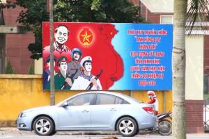 ninh binh socialist propaganda vietnam